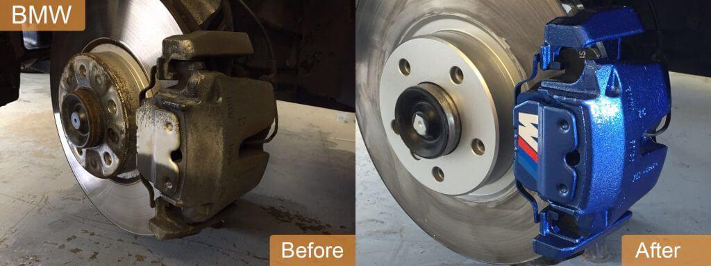 brake caliper painting