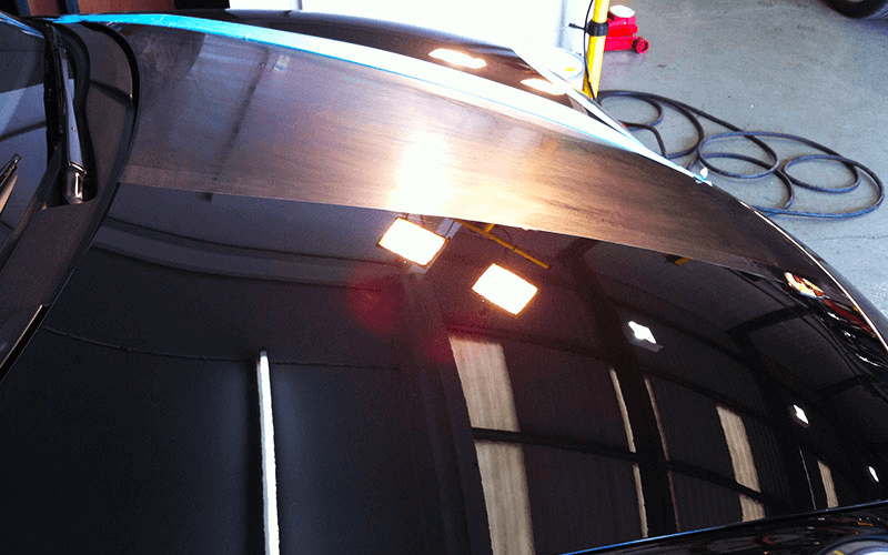 paint correction before and after