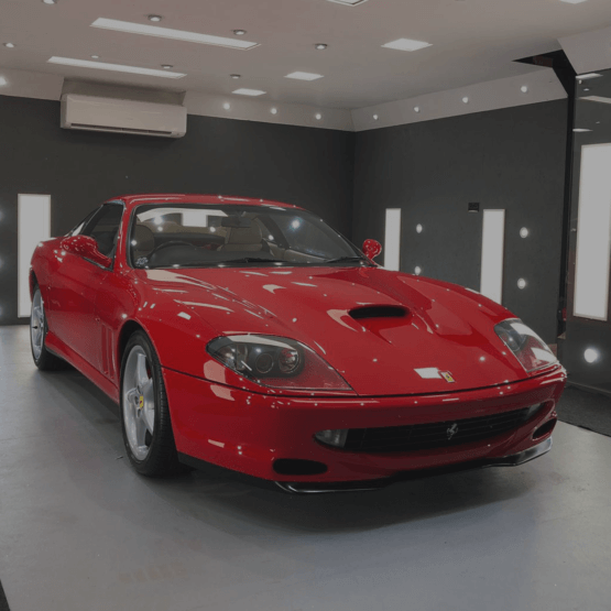 Ferrari 550 Maranello detailing